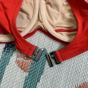 Zulu & Zephyr Swim - Zulu & Zephyr x Revolve Red Afterglow Bikini Top